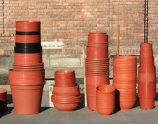 Free Pots Royalty Free Stock Photo - 18302455