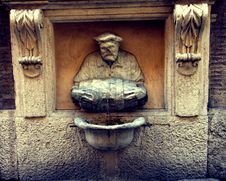 The Little Porter Fountain Royalty Free Stock Images