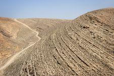 Free Jordan: Dry Desert Royalty Free Stock Photo - 18303715