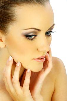 Free Pretty Girl Portrait Closeup Stock Images - 18304554