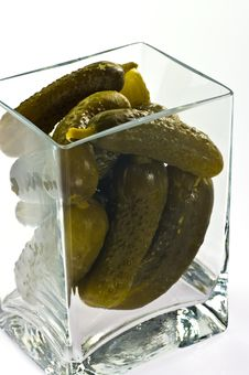 Free Pickled Cucumbers Stock Image - 18304881