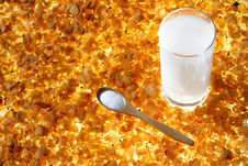 Free Corn Flakes Royalty Free Stock Images - 18305189