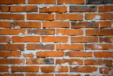 Texture - Brick Wall Stock Image