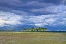Free Motu Is A Small Island. Stock Image - 18307221