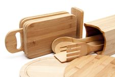 Free Edge Board And Cook Spoon Stock Photo - 18308190