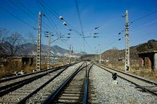 Free Mountain Railway Royalty Free Stock Photo - 18308435
