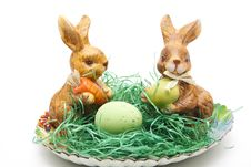 Free Easter Bunnies Stock Images - 18308454