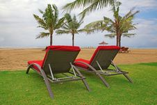 Free Empty Beach Stock Photo - 18309240