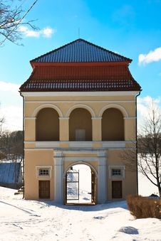 Free Manor Gate, Lithuania, Kelme 1668 Royalty Free Stock Photos - 18309908