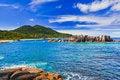 Free Tropical Beach At Seychelles Stock Photos - 18311423