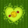 Free St. Patrick S Day Card Design Stock Photos - 18313883