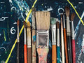 Free Paintbrushes Royalty Free Stock Photo - 18316495