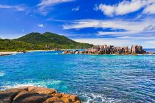 Free Tropical Beach At Seychelles Stock Photos - 18311423