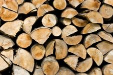 Sawn Wood Stock Image