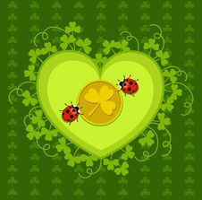 Free St. Patrick S Day Card Design Stock Photos - 18313883