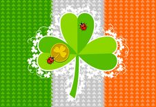 Free St. Patrick S Day Card Design Stock Images - 18313904