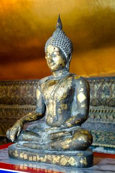 Gold Buddha Royalty Free Stock Photography