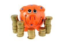 Free Piggy Bank Royalty Free Stock Images - 18315139