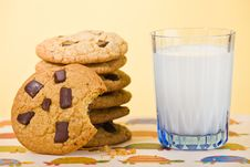 Free Started Cookie Stock Photography - 18315532