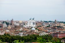 Free Rome View Stock Image - 18315581