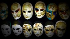 Free Venice Carnival Mask Stock Photo - 18316190