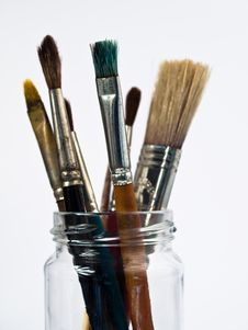 Free Paintbrushes Royalty Free Stock Image - 18316486