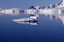 Icebergs In Antarctica 4 Stock Image