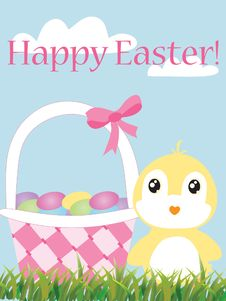 Free Happy Easter! Stock Images - 18316824