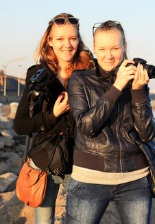Free Women Photographers Stock Photo - 18318900