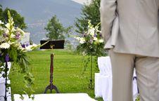 Free Wedding Altar Royalty Free Stock Photos - 18319018