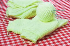 Free Knitting The Product Stock Images - 18319054