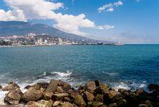 Free Yalta Embankment Royalty Free Stock Photo - 18319975