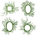 Free Vector Set Of Leafs Frames Royalty Free Stock Photo - 18322775