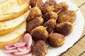 Free Small Kebabs Royalty Free Stock Photo - 18327165