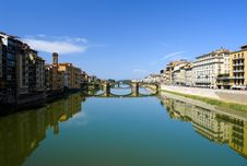 Free Arno River In Florence. Royalty Free Stock Photography - 18320177