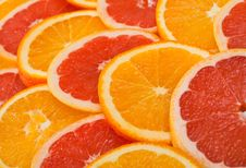 Free Sliced Orange Royalty Free Stock Image - 18321836
