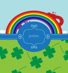 Free Background For St. Patrick Day Royalty Free Stock Photos - 18321878