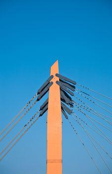 Free Bridge Pillar Royalty Free Stock Image - 18322006