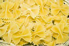 Free Bow-tie Pasta Stock Photo - 18322290
