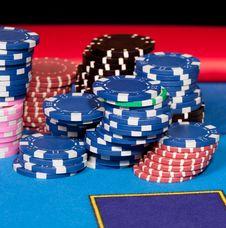 Free Gambling Chips Stock Images - 18323464