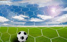 Free Soccer Goal Stock Photos - 18324023