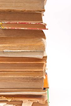 Free Pile Of Old Books Stock Photography - 18324882