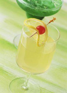Lemon Punch Royalty Free Stock Image