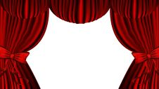 Free Red Curtain Stock Photos - 18325413