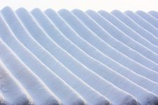 Free Stripe Of Snow Pattern Royalty Free Stock Photo - 18325455