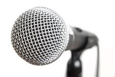Free Vocal Microphone Isolated Stock Photography - 18325892