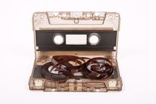Free Broken Audio Cassette Stock Photography - 18325962