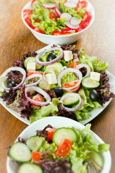 Free Fresh Salad Stock Photo - 18327090