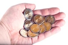 Free Coins Of 2 Euro Royalty Free Stock Image - 18327236