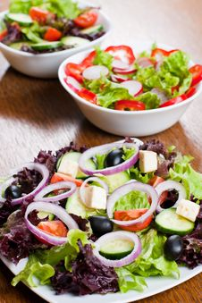Free Fresh Salad Royalty Free Stock Image - 18327246
